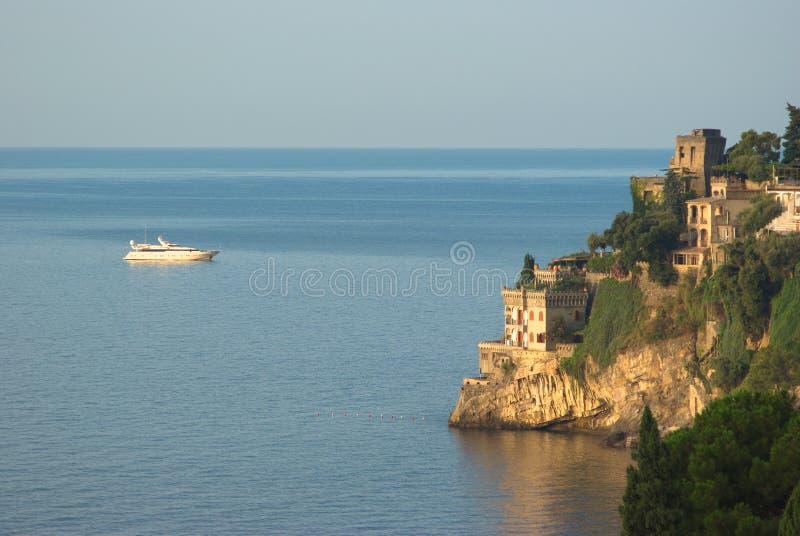 Amalfitana de la costa de Ravello imagen de archivo libre de regalías