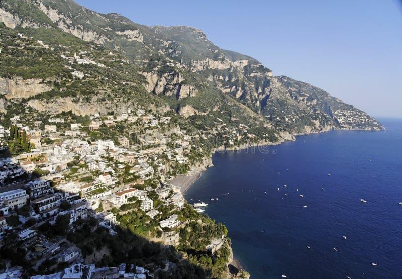 amalfitana positano costiera fotografia royalty free