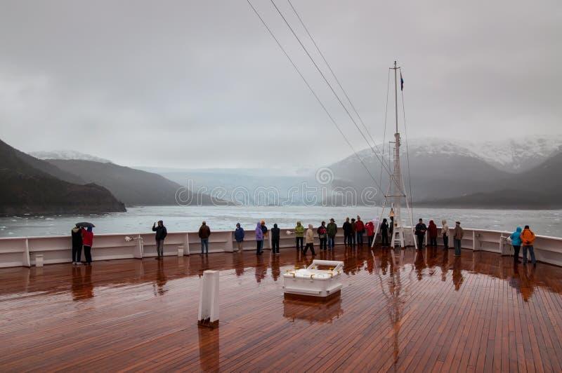 Amalia Glacier, Chili photos stock