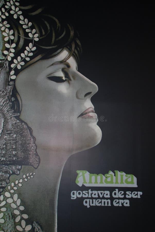 amalia rodrigues στοκ φωτογραφίες