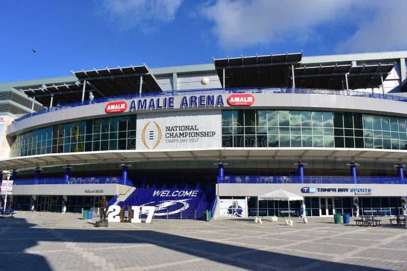 Amalie Arena Tampa lizenzfreies stockbild