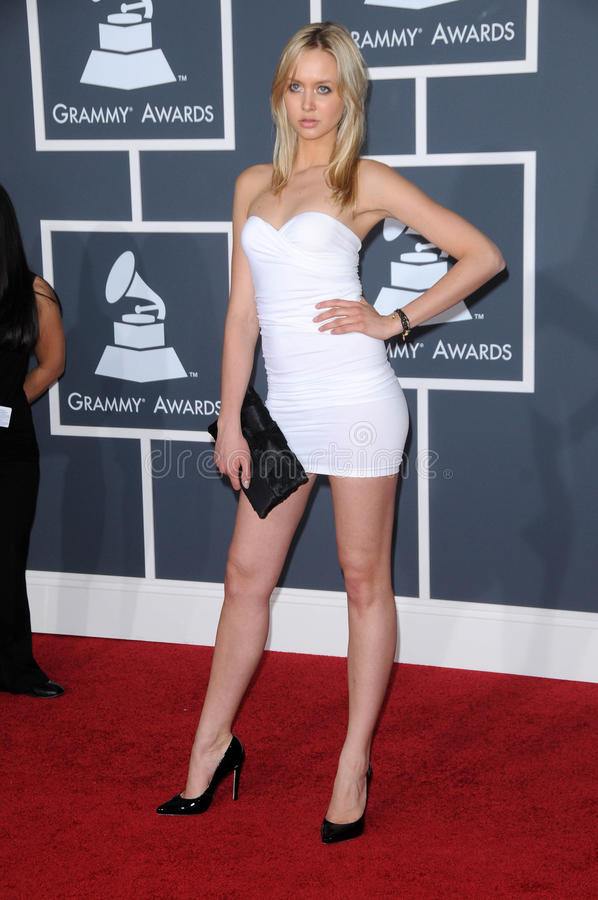 Download Amalie Wichmann At The 52nd Annual Grammy Awards - Arrivals, Staples Center, Los Angeles, CA. 01-31-10 Editorial Stock Image - Image: 25372929