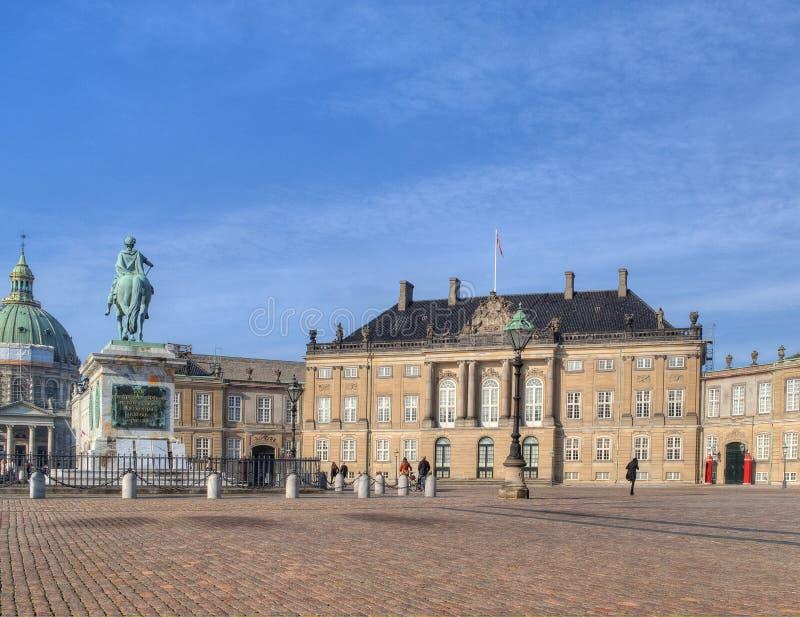 Amalienborg stockfotografie
