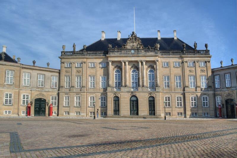 Amalienborg lizenzfreies stockbild