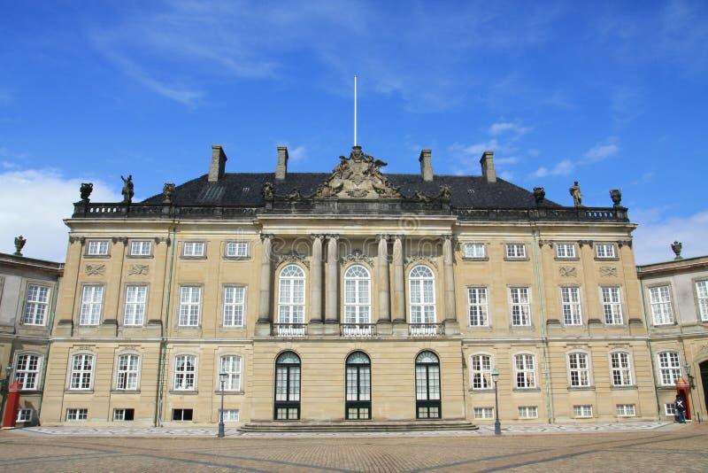 amalienborg Denmark pałac królewski obraz royalty free