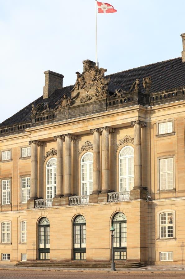 amalienborg pałac obraz royalty free