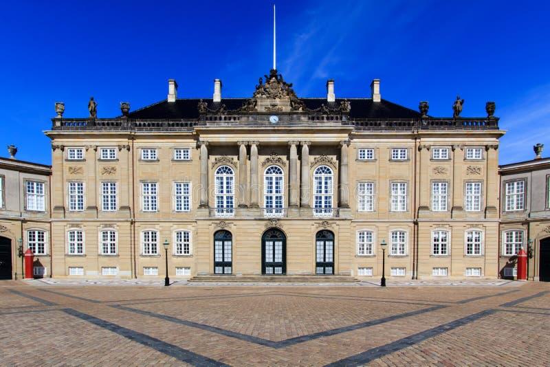 Amalienborg Pałac zdjęcia royalty free