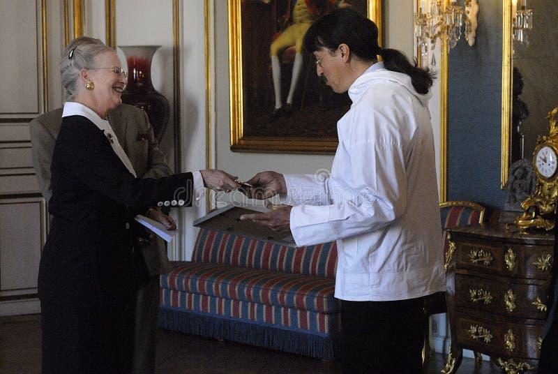 AMAMLIENBORG DE PRIJS VAN HET PALEIS (TOEKENNING) royalty-vrije stock foto