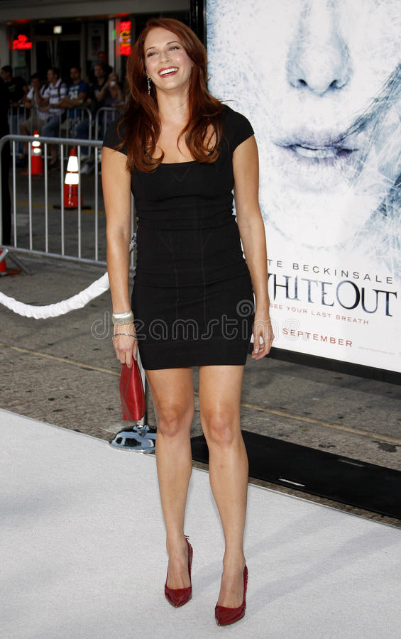 Amanda Righetti lizenzfreies stockfoto