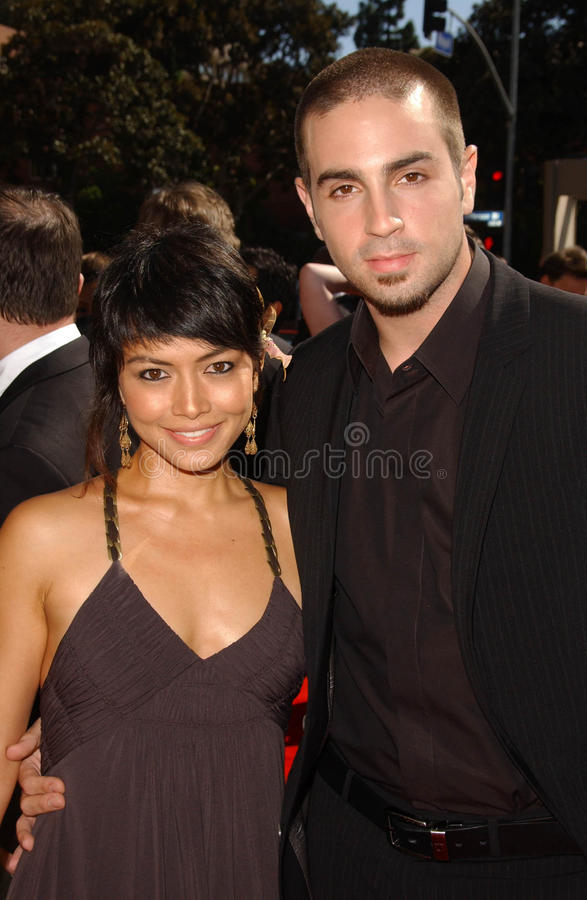 Amanda Rodriguez And Wade J. Robson At The 2007 Primetime Creative Arts Emmy Awards. Shrine Auditorium, Los Angles, CA. 09-08-07 Editorial Image