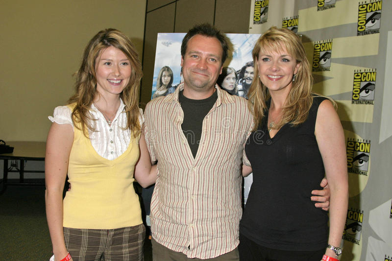 Amanda Tapping,Jewel,Jewel Staite,David Hewlett stock photos