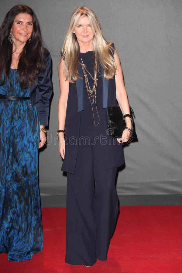 Amanda Wakeley. Arriving for the 2013 British Fashion Awards, at The London Coliseum, London. 02/12/2013 Picture by: Alexandra Glen / Featureflash royalty free stock images