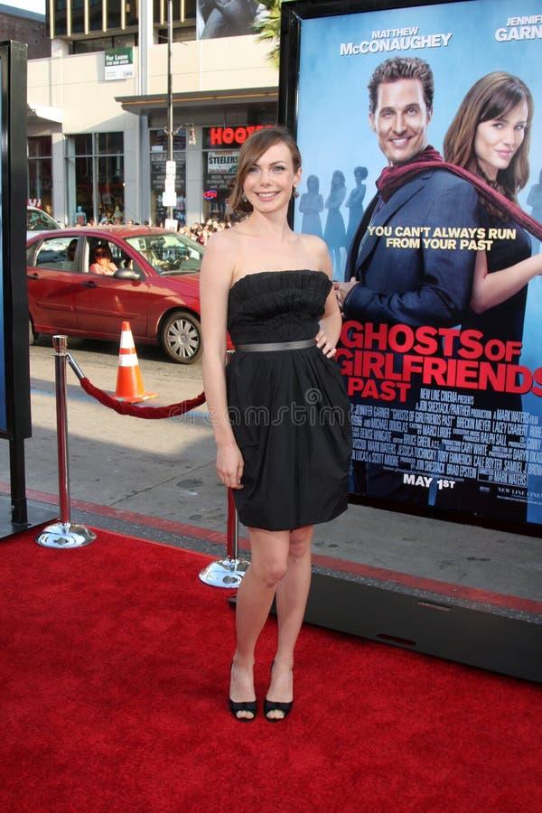 Amanda Walsh Ghosts des amies après la première image libre de droits