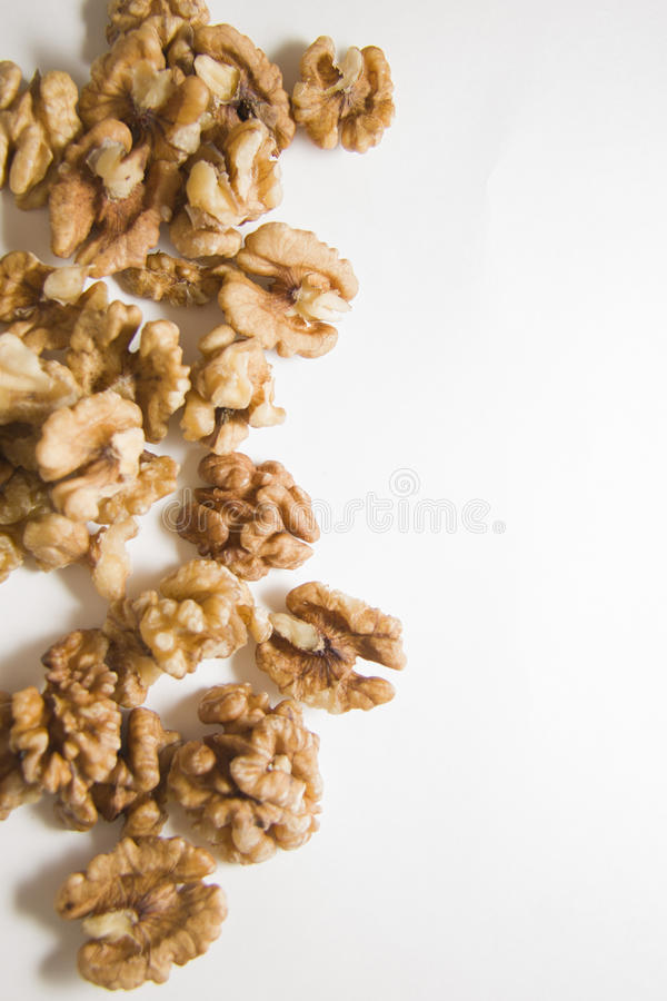 Amandelen en abrikozen stock fotografie