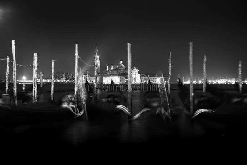 Amanecer de San Giorgio Maggiore pre fotografía de archivo