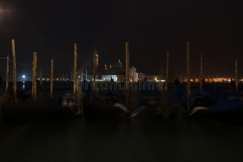 Amanecer de San Giorgio Maggiore pre fotos de archivo libres de regalías