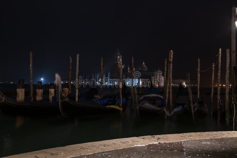 Amanecer de San Giorgio Maggiore pre fotografía de archivo libre de regalías
