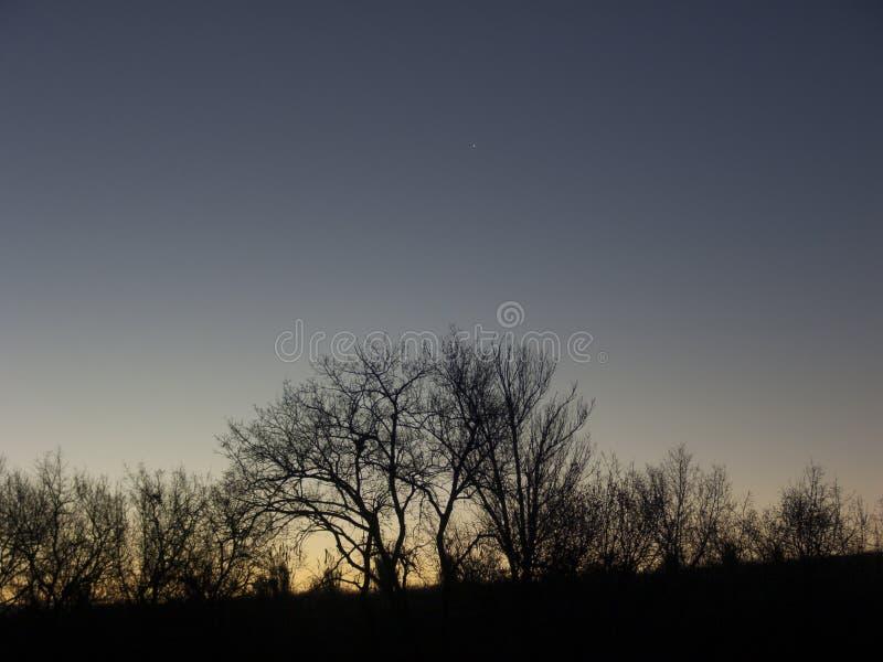 Amanecer rising sun stock photos