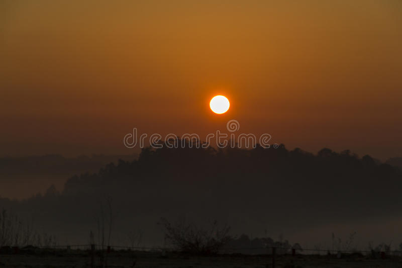 Amanecer royalty free stock images