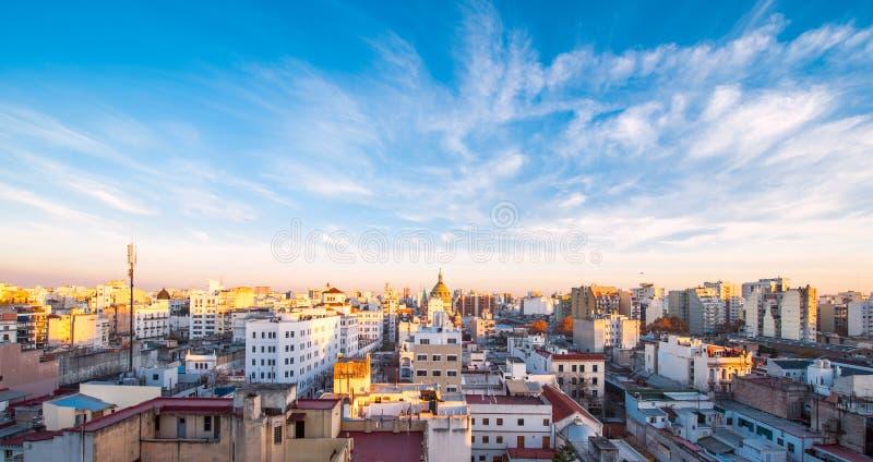 Amanhecer em Buenos Aires, Argentina imagem de stock royalty free