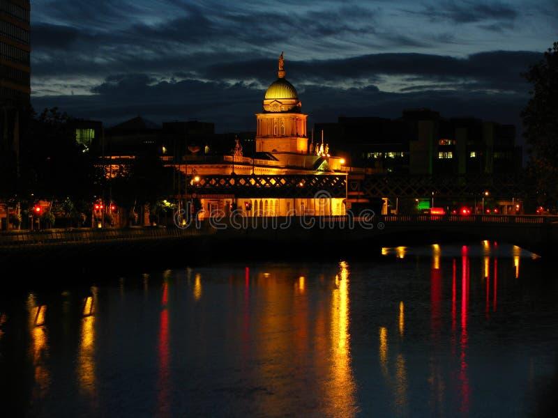 Amanhecer em Dublin fotografia de stock royalty free