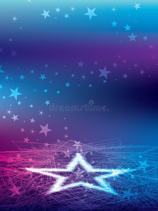 Amante da estrela ilustração stock