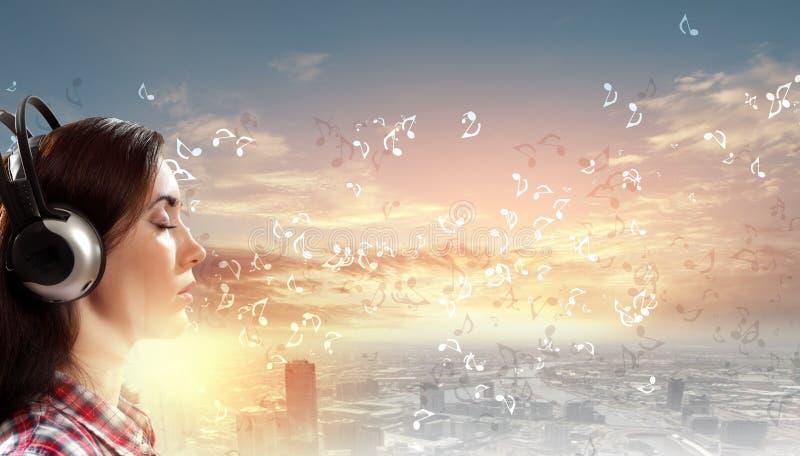 Amante de la música imagen de archivo