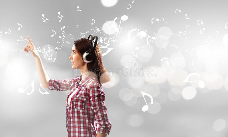 Amante de la música fotos de archivo libres de regalías