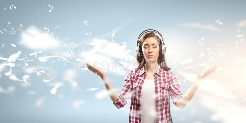 Amante de la música imagen de archivo libre de regalías