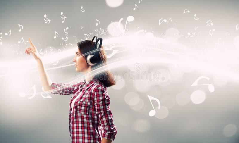 Amante de la música imagenes de archivo