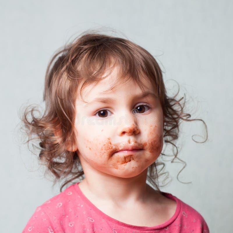 Amante del chocolate imágenes de archivo libres de regalías