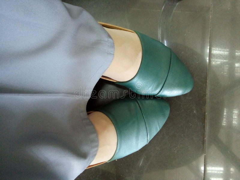 Amante del zapato fotos de archivo