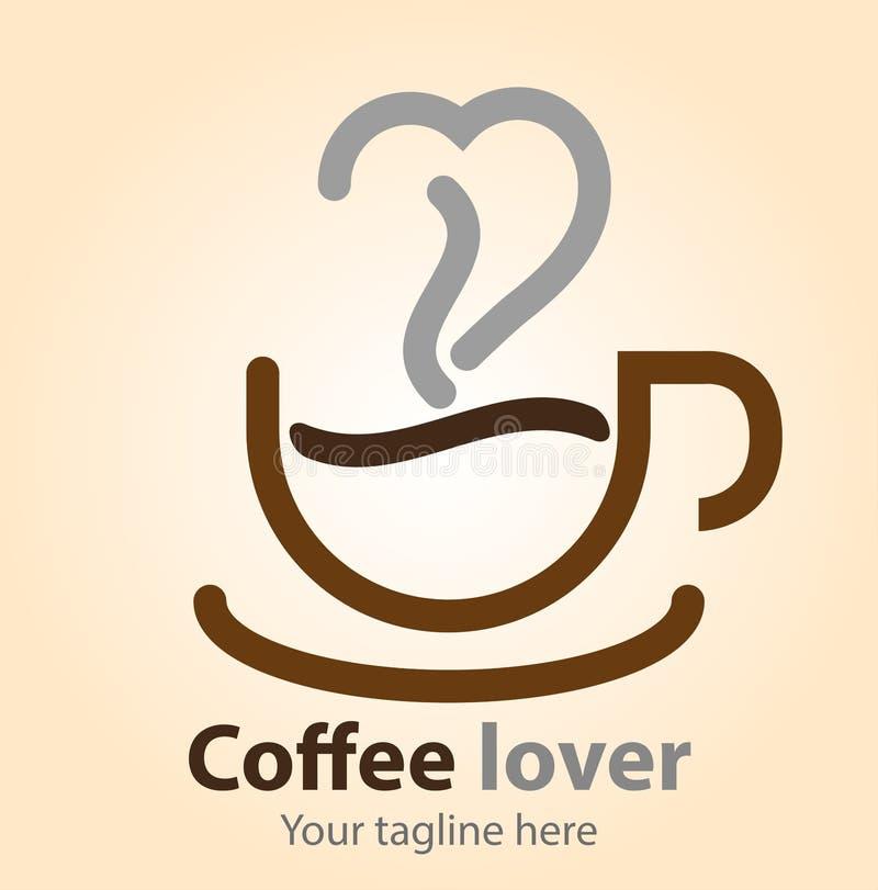 Amante do caf? ilustração do vetor