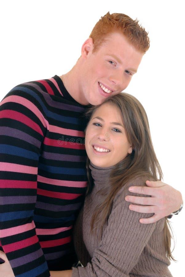 Amantes adolescentes imagens de stock royalty free