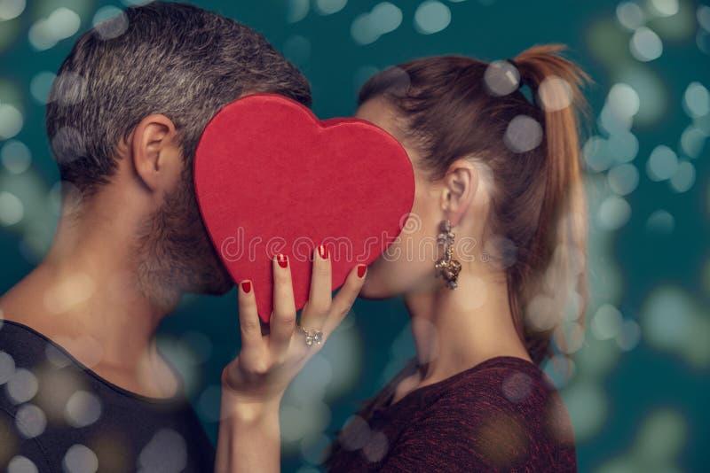 Amantes casais em 14 imagens de stock royalty free