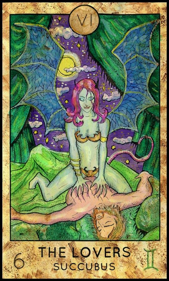 amantes succubus libre illustration