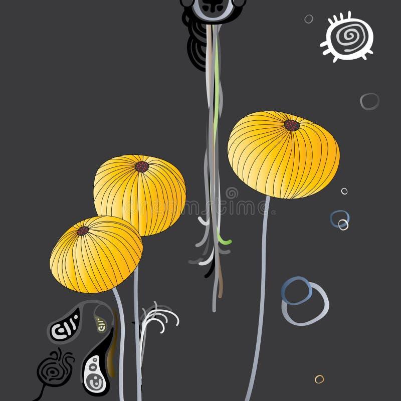 Amapola del oro libre illustration
