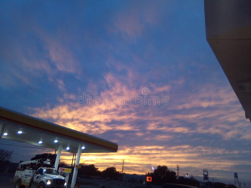 Amar o céu como sinto um alívio foto de stock royalty free