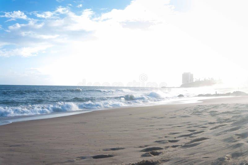 Amaralina beach stock photography