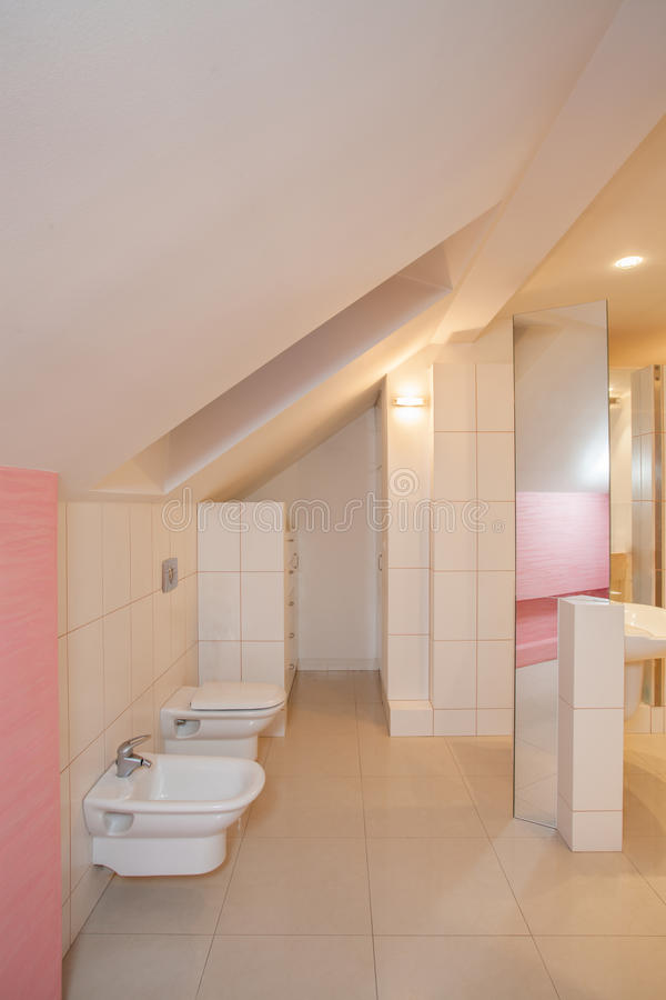 Amaranth House - Bathroom Stock Photos