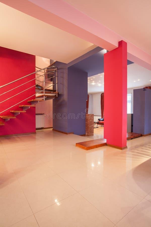 Download Amaranth house - Interior stock image. Image of estate - 29057007