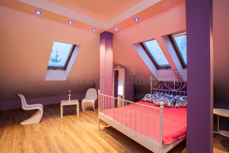 Amaranth House - Sweet Bedroom Stock Photography