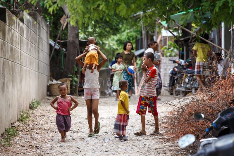 Amarapura, Myanmar zdjęcia royalty free