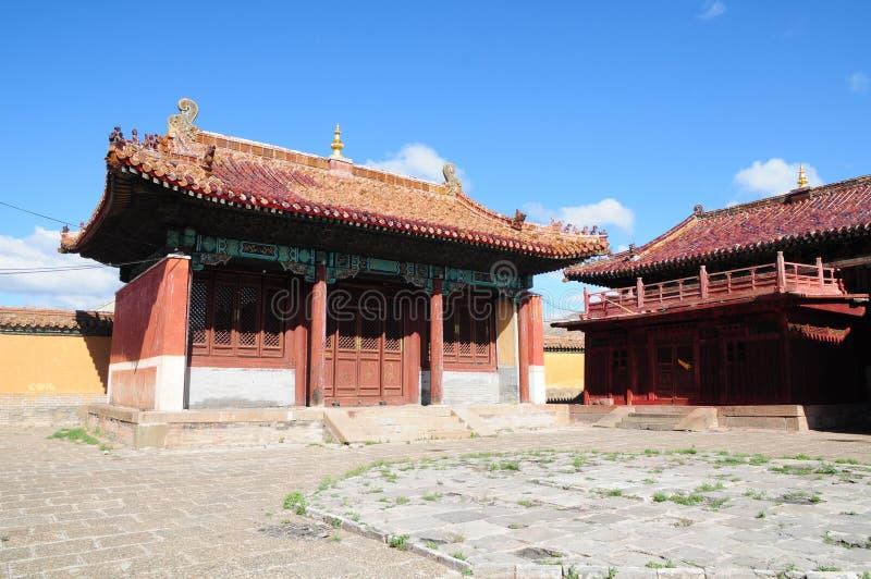 amarbayasgalant центральный скит Монголия стоковые изображения