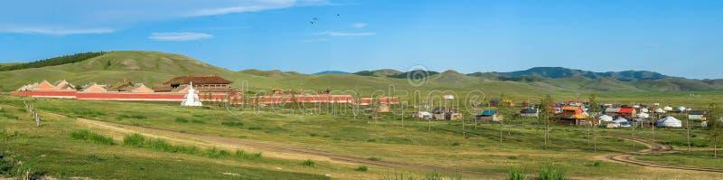 Amarbayasgalant-Kloster bei Mongolei stockfoto