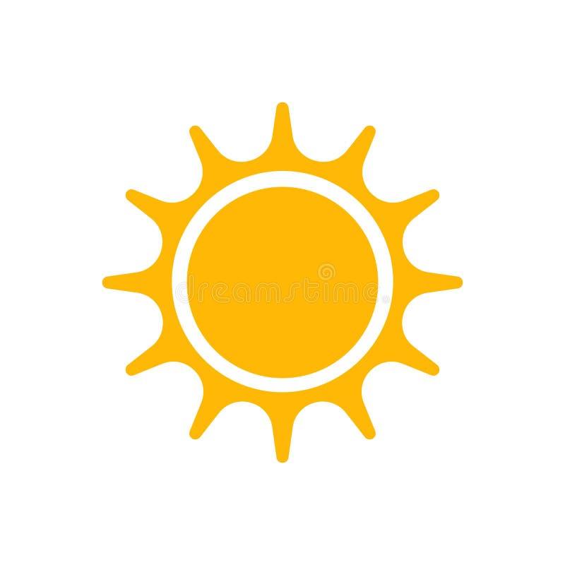 Amarelo 2 de Sun ilustração stock