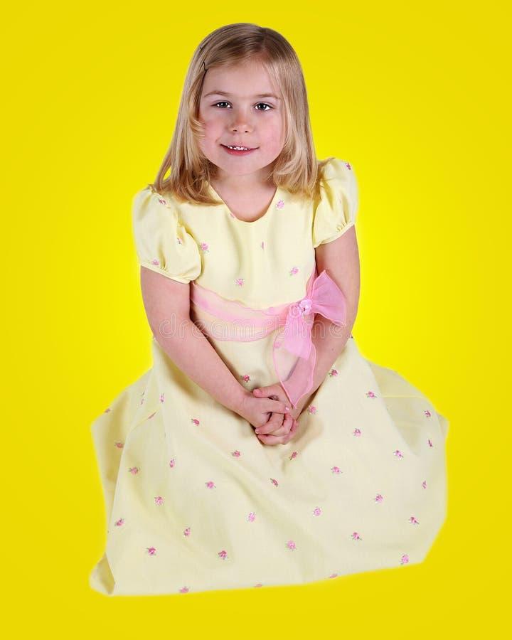 Amarelo maduro fotografia de stock