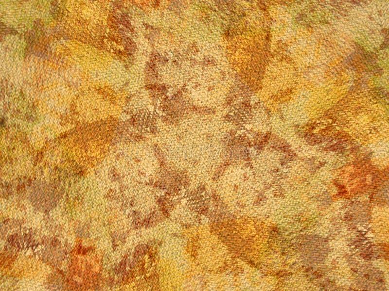 Amarelo orgânico de Grunge da textura ilustração stock