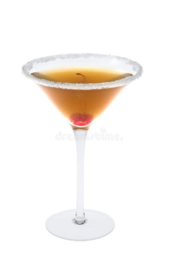 amaretto背景鸡尾酒酸白色 免版税库存图片
