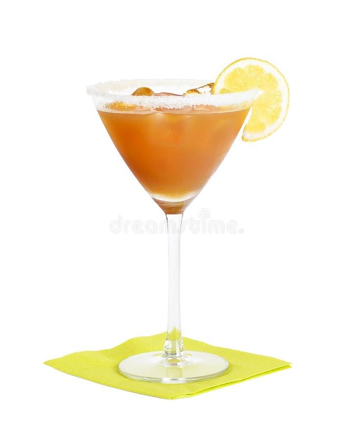 Amaretto酸鸡尾酒 库存图片
